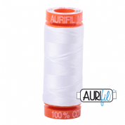 Aurifil 50 Cotton Thread - 2024 (White)